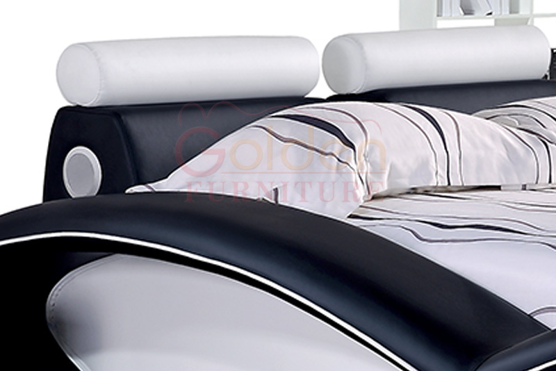 2016 new design modern leather bed home furniture buy for New bed designs 2016