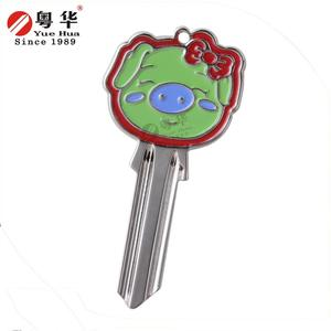 Best selling used locksmith tools color key blank for lock opening tool