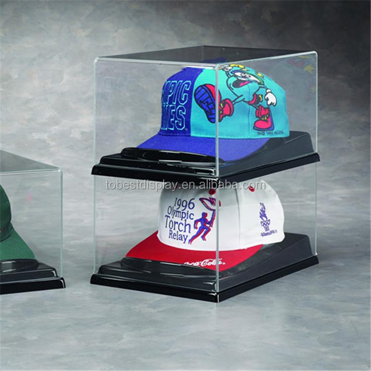 Clear Acrylic Baseball Hat Display Case Cap Rack Canada Holder Hobby Lobby
