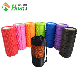 High Density EVA Hollow Customizable Logo Yoga Foam Roller for Muscle Massage