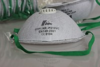 Ce Ffp1 Disposal Non-woven Dust Mask/respirator For Industrial ...