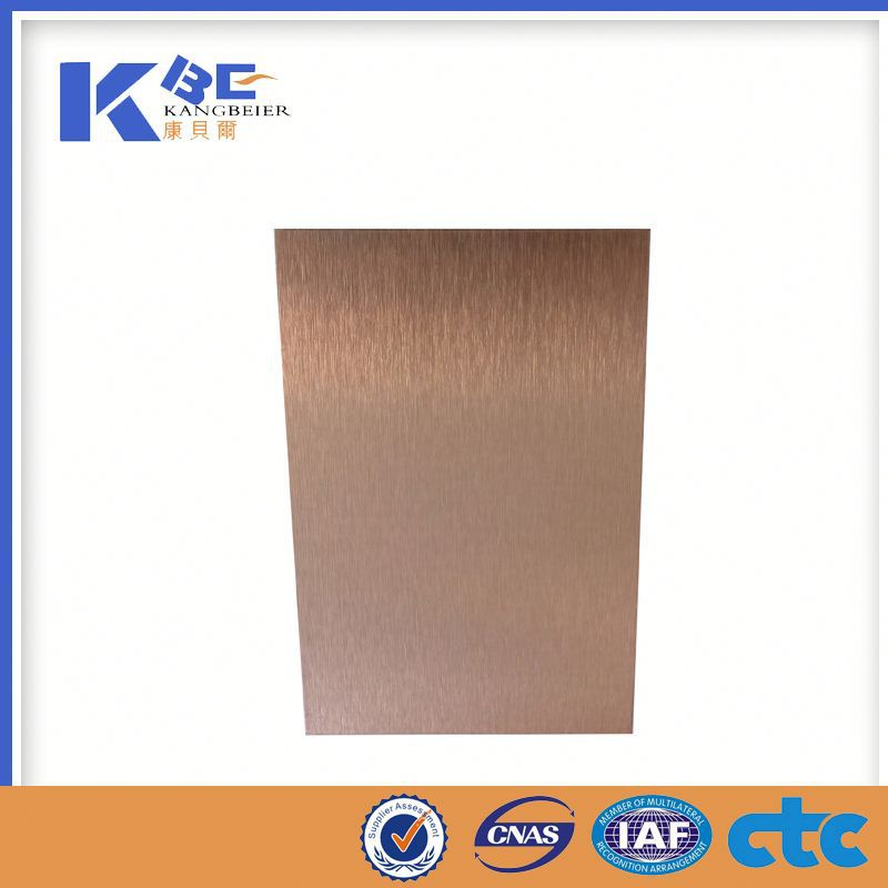 metal color film laminated sheet