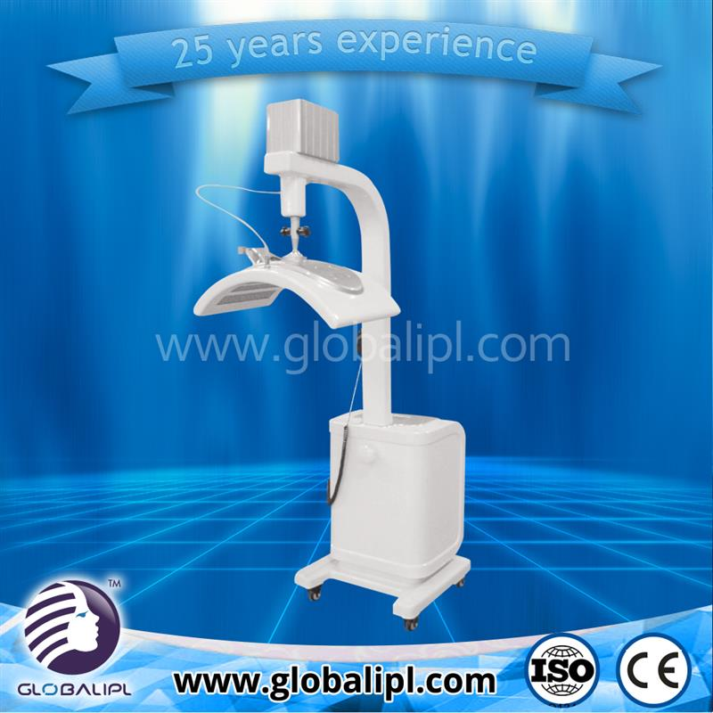 Medical CE approved easy operation acne removal bio electro with led light and ultrasound
