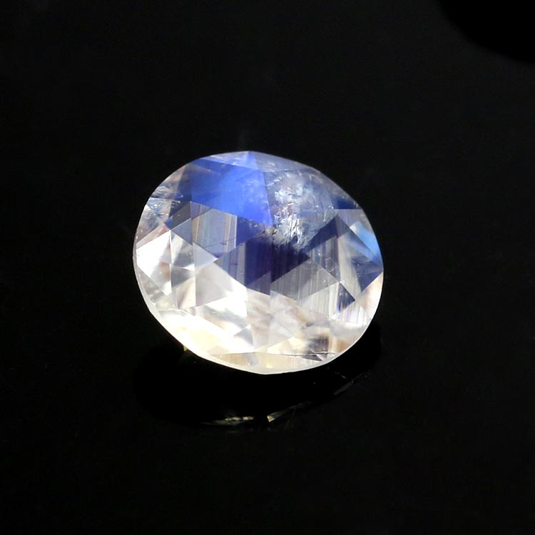 natural gem stones round shape moonstone loose gemstone prices