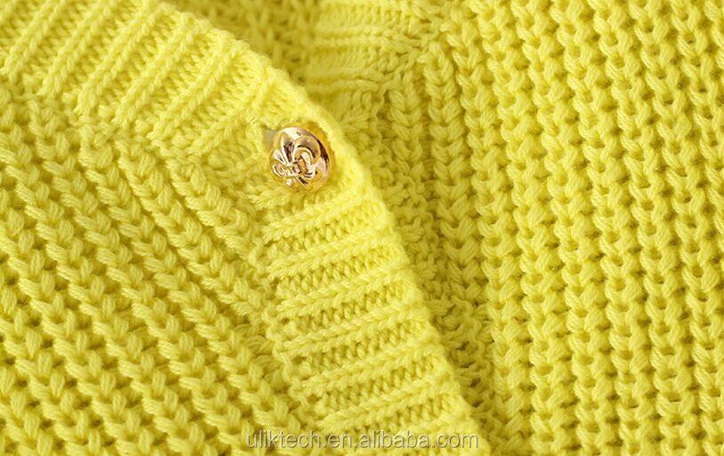 2015 fall new design children cardigan handmade sweater for girls wholesale  kids sweater (ulik,