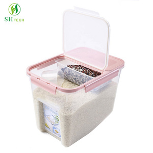 Newest Different Capacity Transparent Clear Food Storage