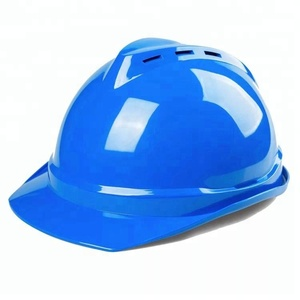 Head Protection V Type Safety Helmet For Construction