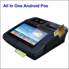 Pos Bank Card Payment And QR code Payment Electronic Cash Register Machine