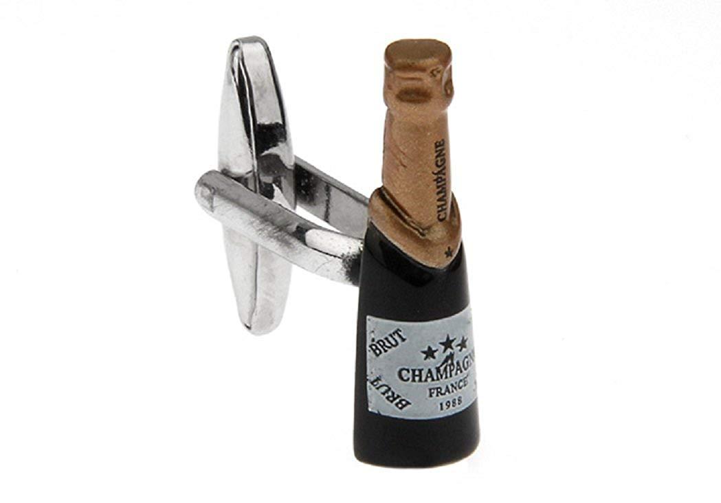 Champagne Cufflinks with Presentation Box