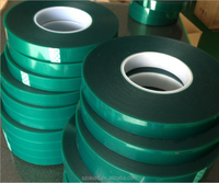 High Temperature Adhesive PET Green Tape Sticky for PCB Plating Protective Coating