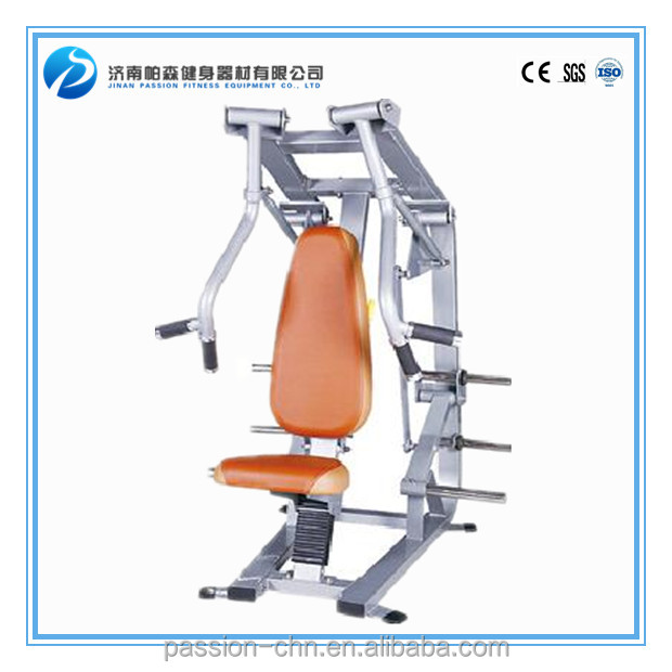Heavy duty gym use equipment / exercise vertical chest press