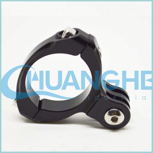 Hot sales colorful bicycle quick release best tube clips/clamp