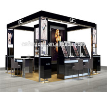 shopping mall cosmetic display kiosk showcase/shelf