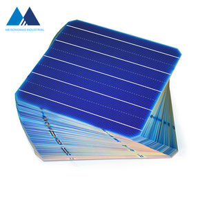 China supplier 5 busbar mono crystalline solar cells triple junction solar cell price
