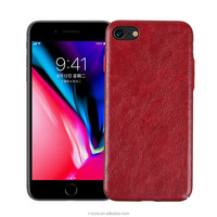 New PU Leather PC Cell Phone Case for iPhone 8 Back Cover China Manufacturer