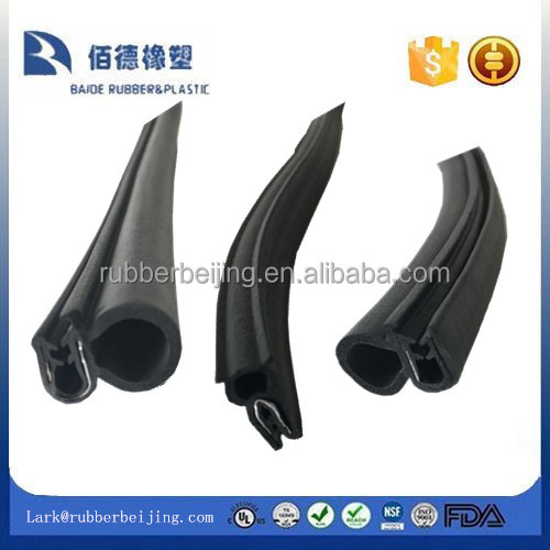 manufacturer flexible rubber sealing strip / EPDM extruded gasket