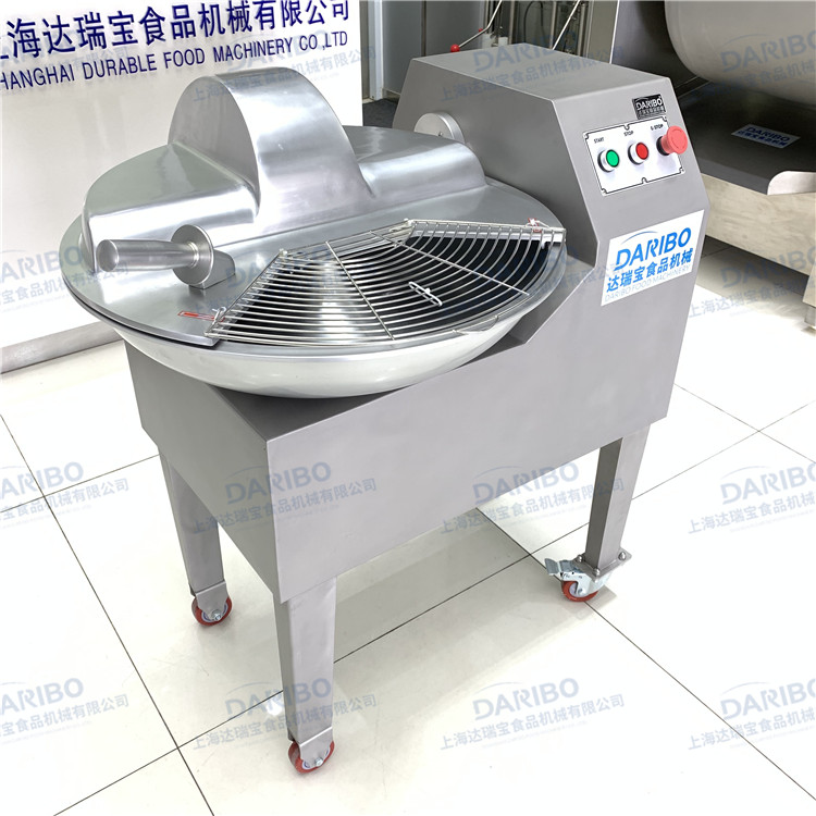 Durable Meat VEgetable Bowl Cutting Machine Chicken Breast Beef Chopping Cutter for Pancake