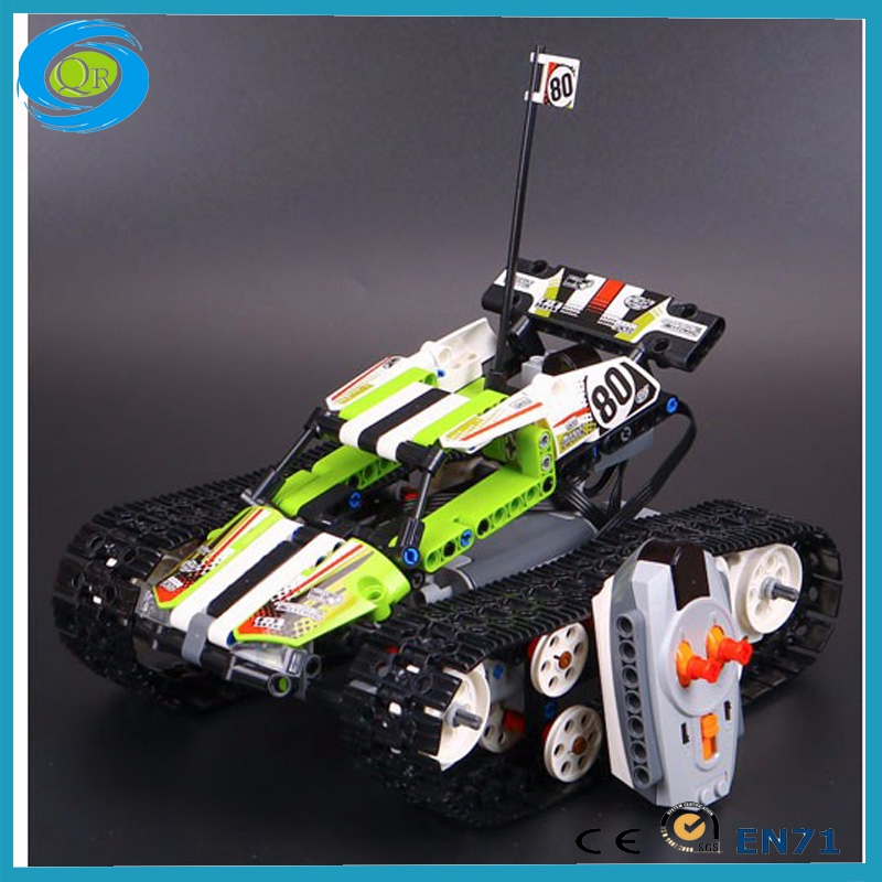 Lepin 20033 Technic Series The RC Track Remote-Control Race