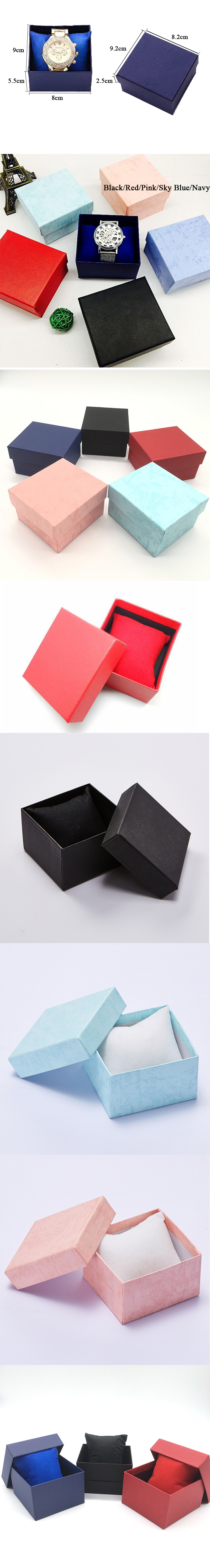 High-end paper square luxury Watch box watch storage box custom gift box