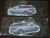 Hanging car air freshener/car vent air freshener with custome packing