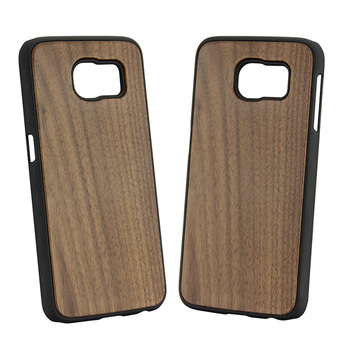 Real wood bamboo phone case for Samsung Galaxy S6 case