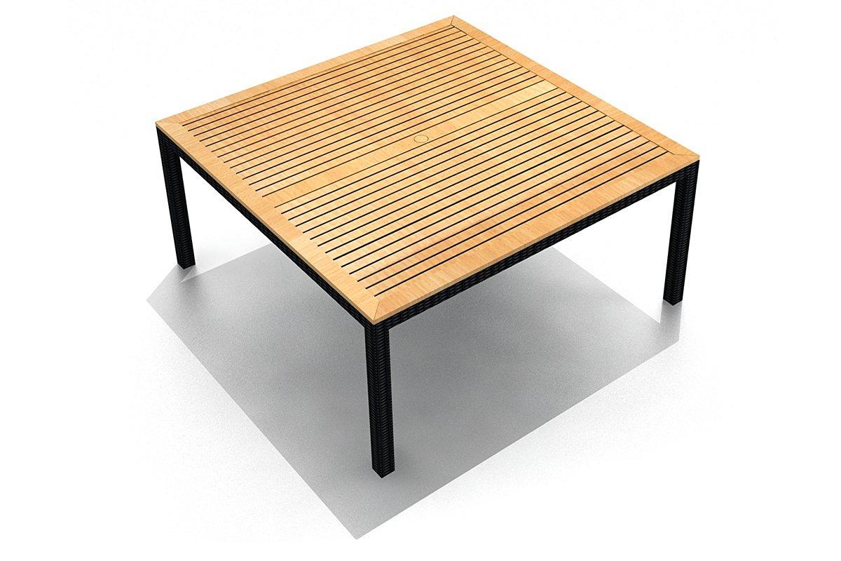 Harmonia Living HL-AR-CB-8SQDT Arbor 8-Seater Square Dining Table