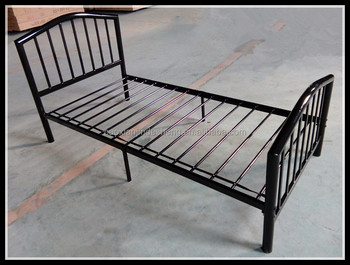 Hot Sale Metal Single Bed Frame Latest Single Bed Designs Iron