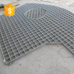 Direct factory high quality malaysia walkway heavy duty steel grating price  with clips