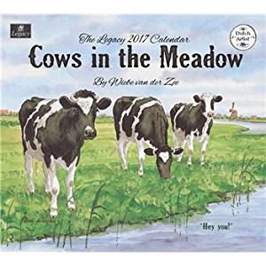 2017 Cows in the Meadow Wall Calendar - Legacy {jg} Great Holiday Gift Ideas - for mom, dad, sister, brother, grandparents, gay, lgbtq, grandchildren, grandma.
