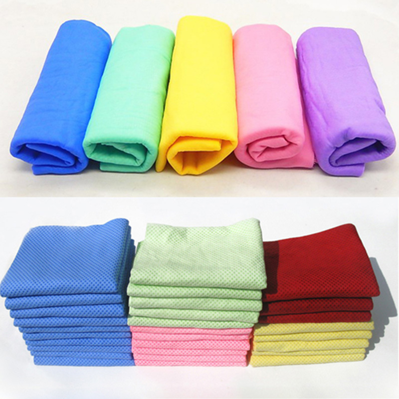 Super Absorption Deerskin Chamois Cham Car Wash Towel Synthetic PVA Imitation 43cm*32cm*0.2 Auto Care Clean Sponge Cloth Natural