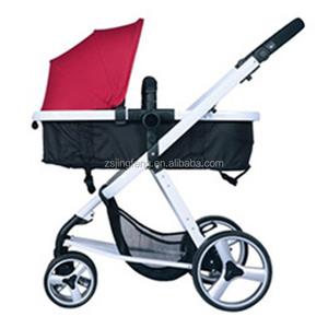 Hot Sale Aluminum Reversible Handle Triple Stroller 3 In 1