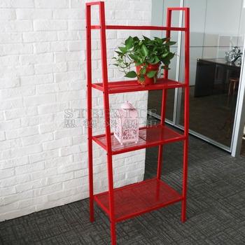 Home Wall Shelf 4 Tier Living Room Corner Display Rack