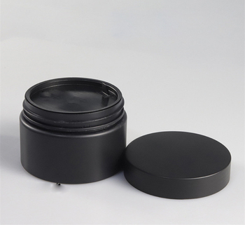 100g 100ml 120ml 120g 4 oz 250g 8 oz 250ml matte frosted black pet plastic jars cosmetics 8oz matte black plastic jars for cream