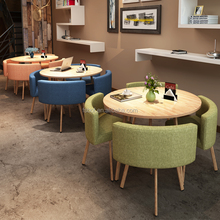 Fashion stad hotel project nieuwe ontwerp china <span class=keywords><strong>restaurant</strong></span> cabines cafe meubels eetkamer ronde tafel en stoel set R1744