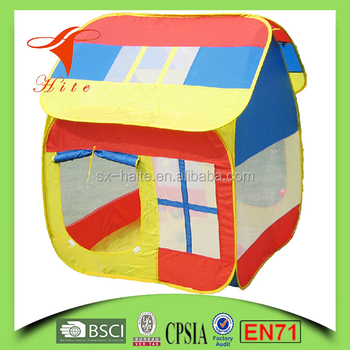 Playful kids folding house tent/POP UP easy fold house tent/ indoor outdoor kids  sc 1 st  Alibaba & Playful Kids Folding House Tent/pop Up Easy Fold House Tent ...