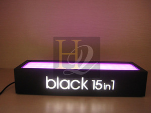 manufacturer acrylic countertop led perfume bottle display stand