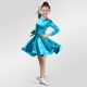 Dresses High Quality Kids Competition Cheap Wear Professional Cha Cha Children Girl Ballroom Latin Dance Dress ZH5026