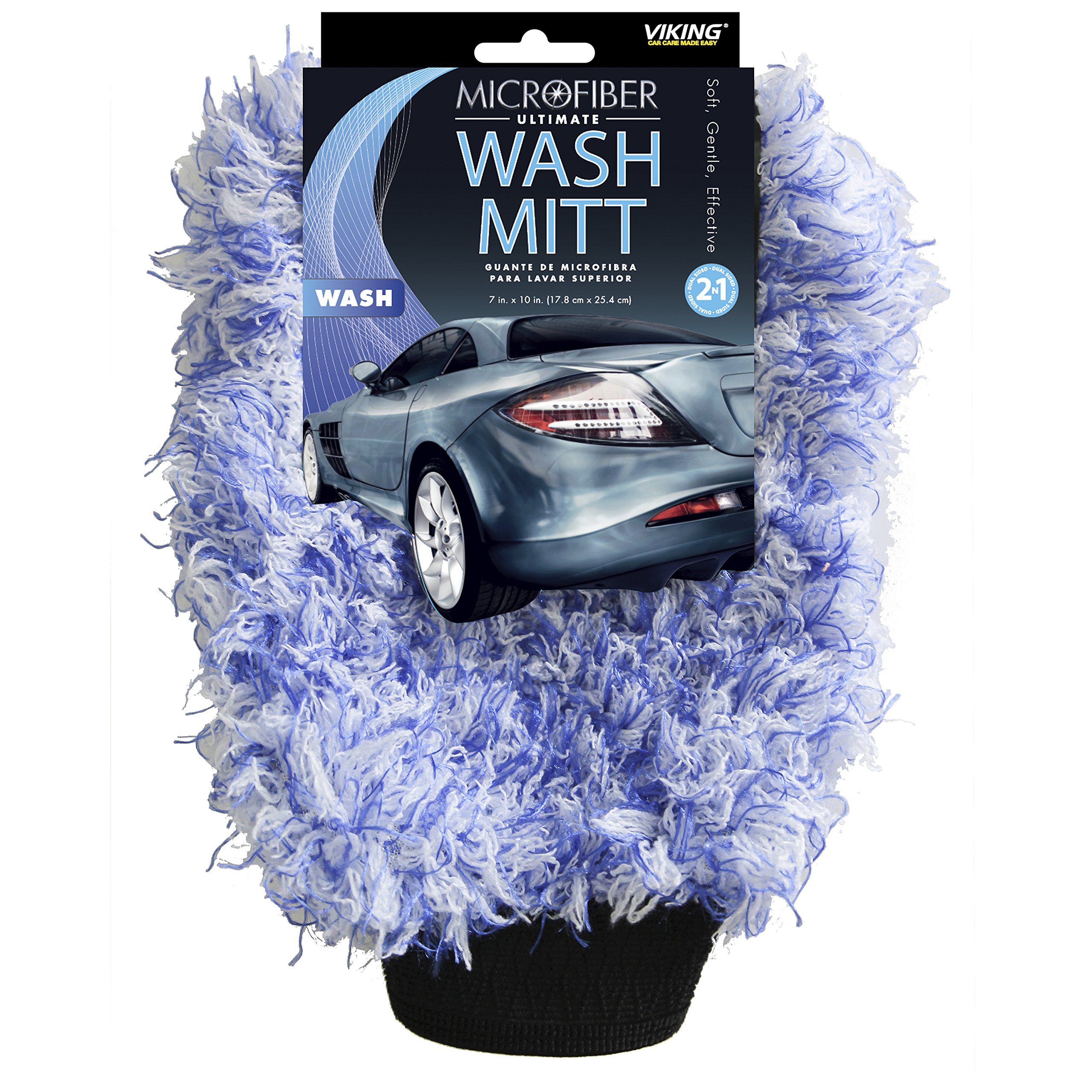 Viking Microfiber Car Wash Mitt - Scratch-free