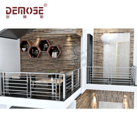 terrace steel balustrades/wire steel railings for balconies