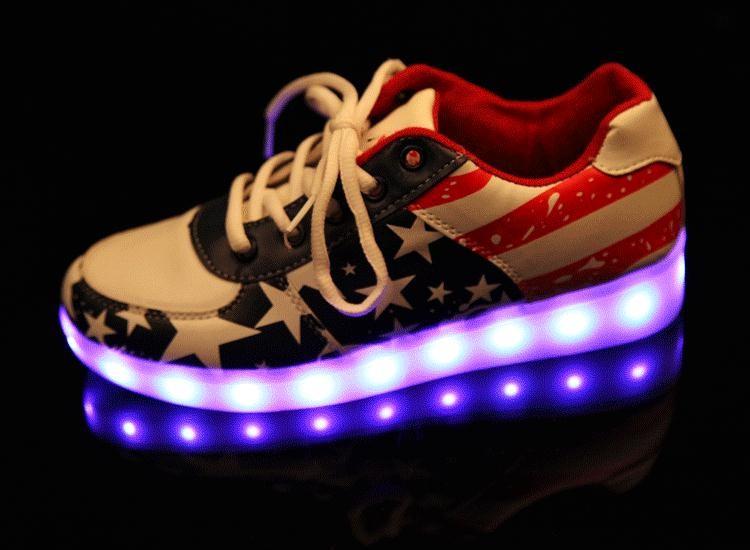 cfda08017 comprar zapatillas luces led colores