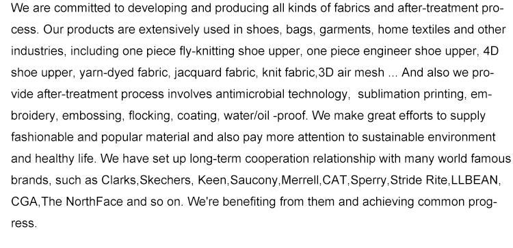 New Flyknit Shoe Vamp Styles Shoe Upper Pattern Making