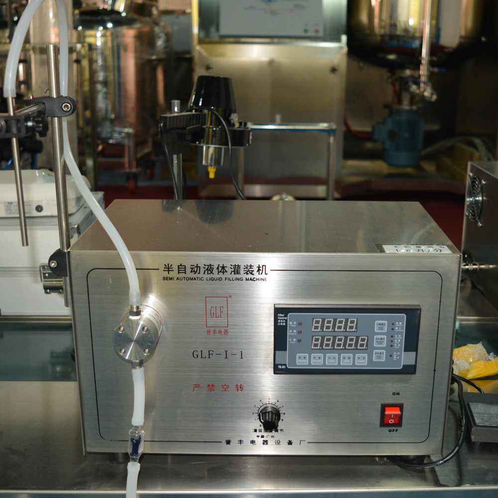 Semi automatic eyedrop filling machine, small bottle filling machine