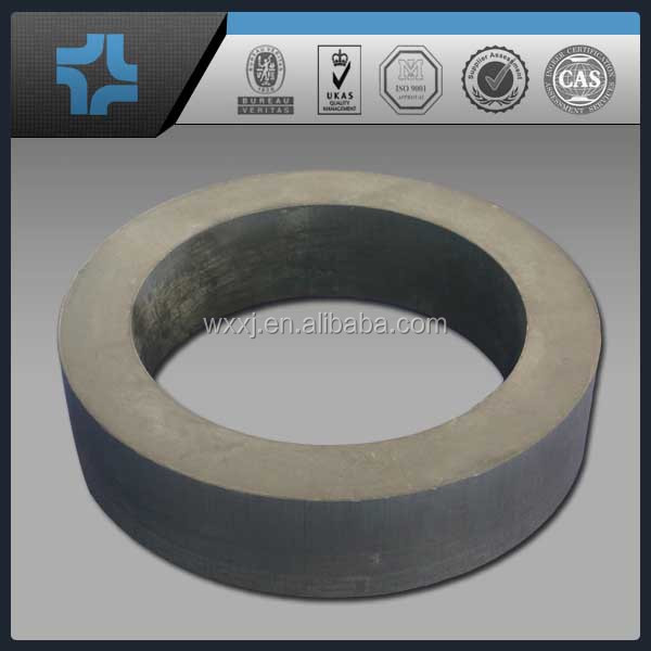 high machanical strength industrial engineering plastic PTFE + graphite tube