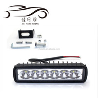 Led Spot Light Bar 4D Fish Eye Projector Lens Work Light 6SMD For UTE ATV SUV Truck 24V DC