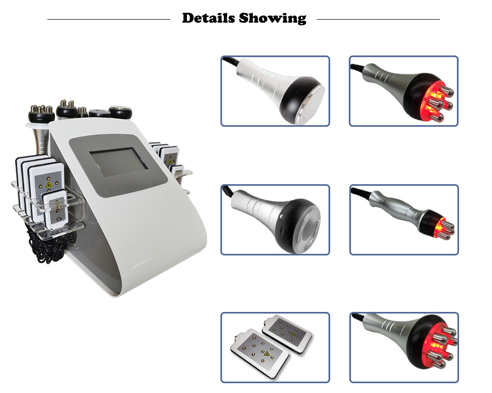 Hot sale slimming 650nm laser salon  use Ultrasound cavitation system