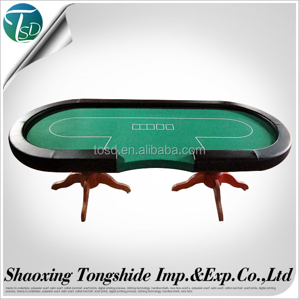 Tournament Poker Table with iron leg