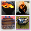 Cast iron wood burning fire pit manufacture outdoor fire pit