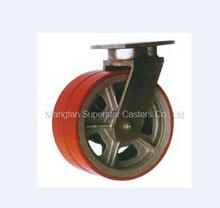 3 Ton 10Inch Super Heavy Duty Dual PU Wheel Caster Wheel