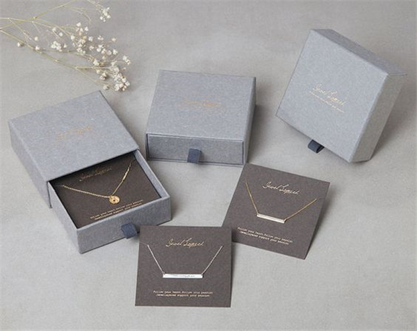 Storage Box for Earring Bracelet Necklace jewellery paper set box