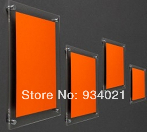 16 Quot X 16 Quot Acrylic Hanging Photo Frame Clear Wall Mounting